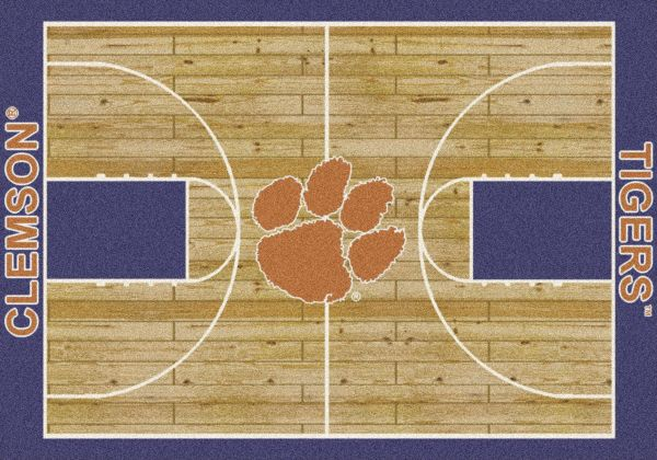 "Milliken College Home Court Clemson Multi 5'4"" x 7'8"" Collection"