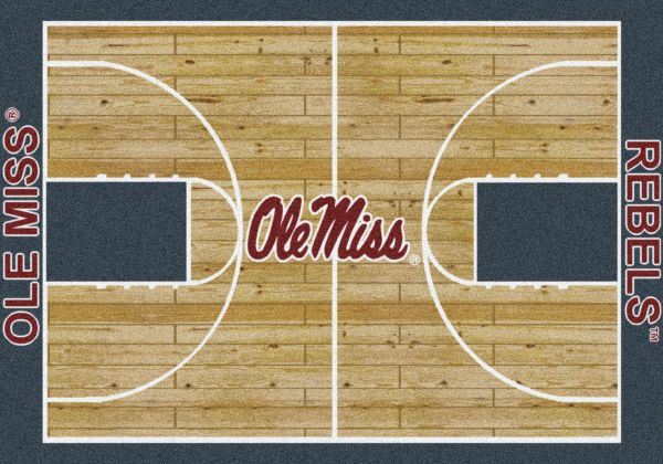 Milliken College Home Court Mississippi Multi Collection