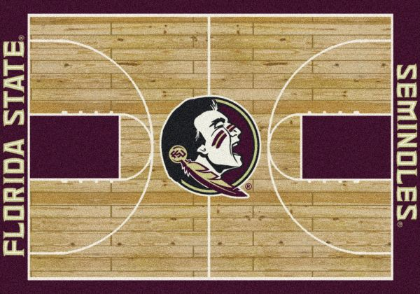 "Milliken College Home Court Florida State Multi 3'10"" x 5'4"" Collection"