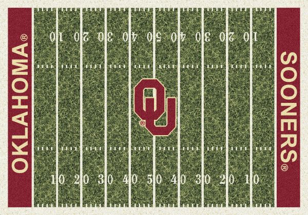 "Milliken College Home Field Oklahoma Multi 7'8"" x 10'9"" Collection"
