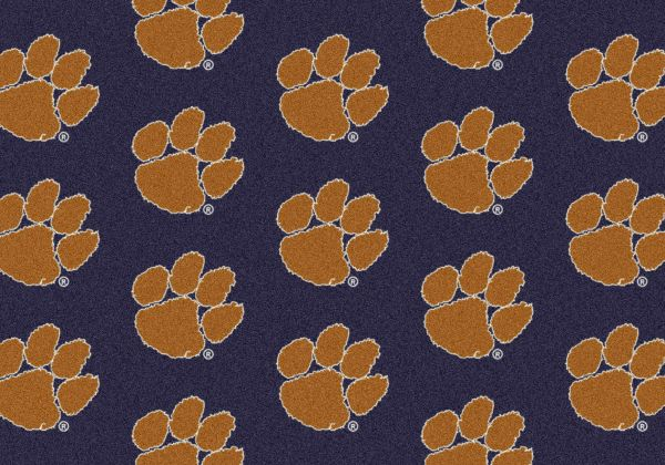"Milliken College Repeating Clemson Multi 3'10"" x 5'4"" Collection"