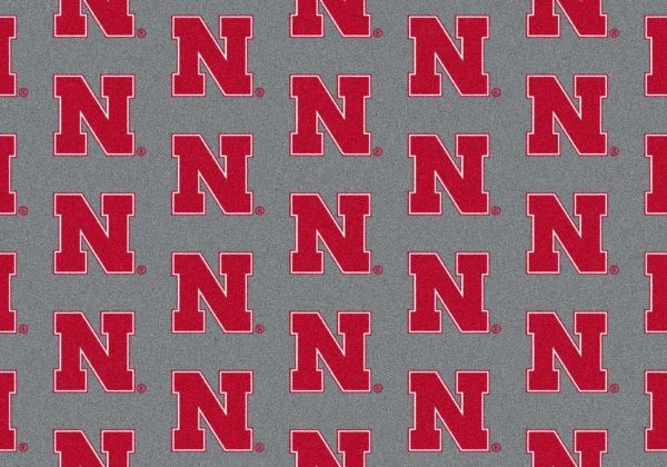 "Milliken College Repeating Nebraska Multi 10'9"" x 13'2"" Collection"