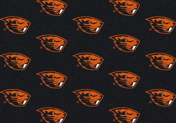 "Milliken College Repeating Oregon State Multi 3'10"" x 5'4"" Collection"