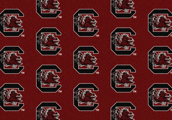 "Milliken College Repeating South Carolina Multi 3'10"" x 5'4"" Collection"