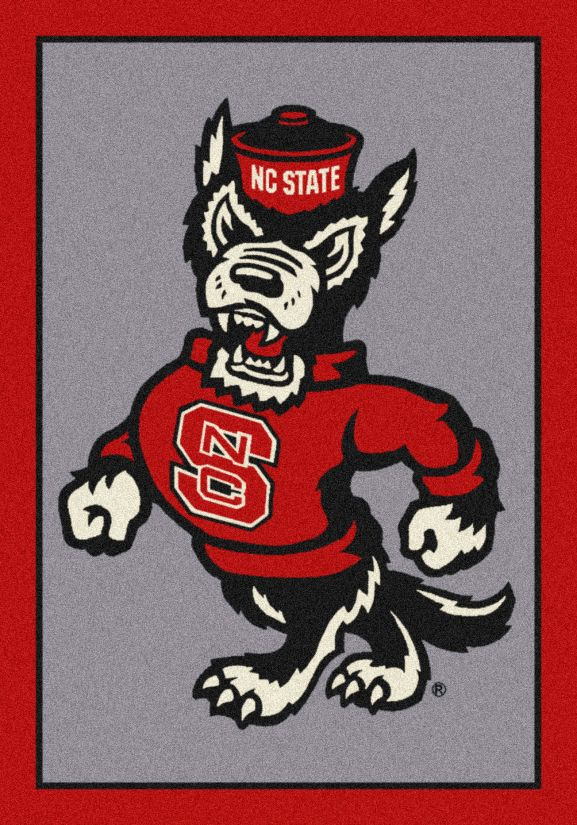 "Milliken College Team Spirit North Carolina State Multi 5'4"" x 7'8"" Collection"