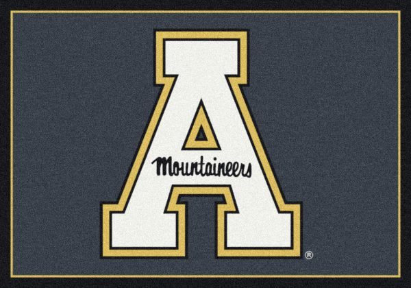 "Milliken College Team Spirit Appalachian State Multi 7'8"" x 10'9"" Collection"
