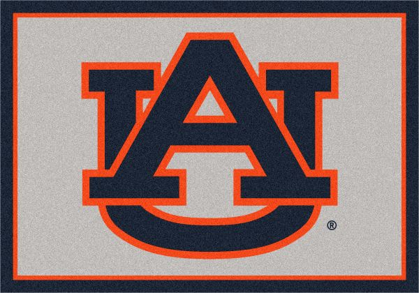 "Milliken College Team Spirit Auburn Multi 2'8"" x 3'10"" Collection"