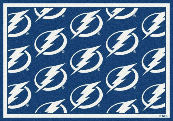 "Milliken NHL Team Repeat Tampa Bay Lightning Multi 3'10"" x 5'4"" Collection"