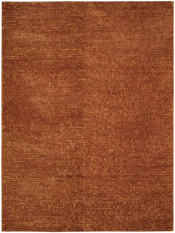 Nourison Fantasia Shag, Modern/Contemporary, Rust Collection