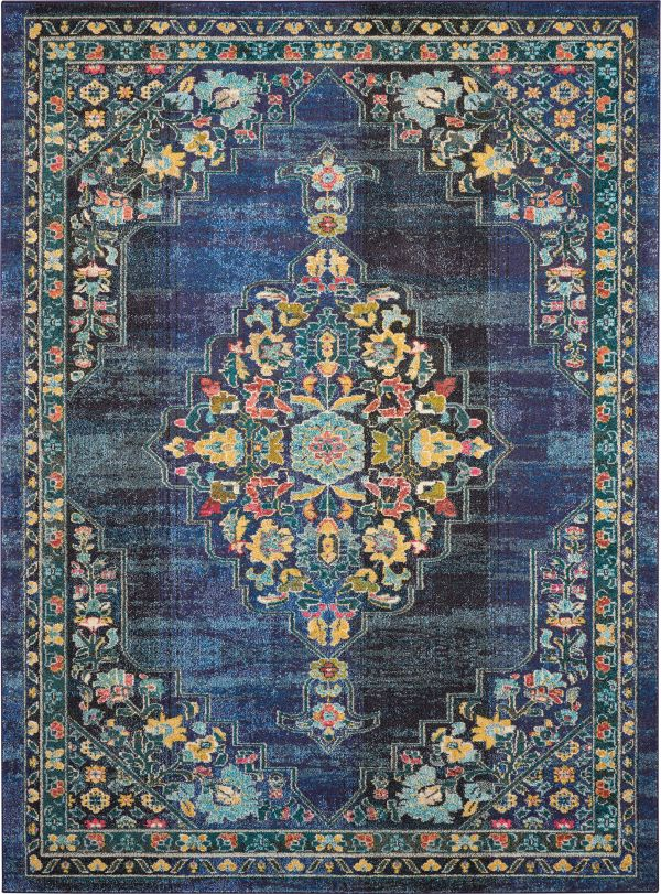 Nourison Passionate Navy Collection
