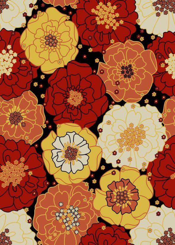"""Nourison Home & Garden Black 7'9"""" x 10'10"""" Collection"""