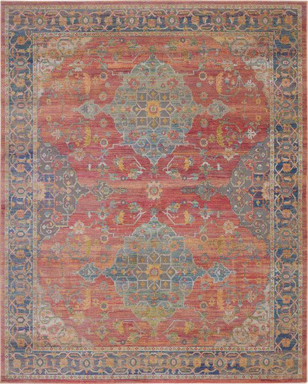 Nourison Ankara Global Multicolor Collection