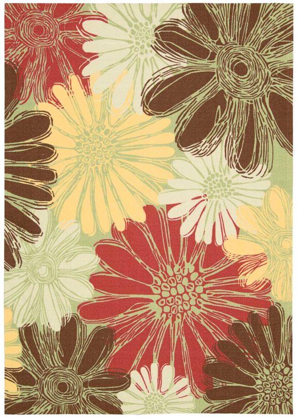 Nourison Home & Garden Green Collection
