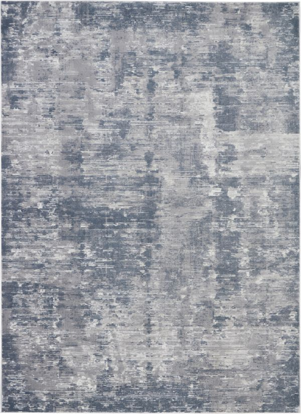 Nourison Rustic Textures Grey Collection