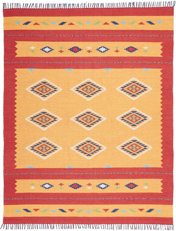 Nourison Baja Orange/Red Collection