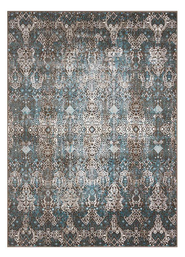 Nourison Karma Blue Collection