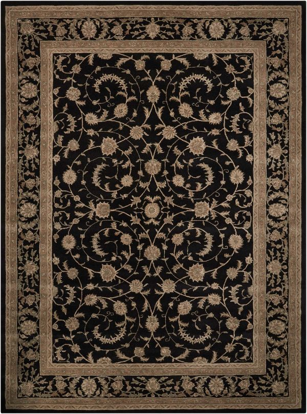 Nourison Heritage Hall Traditional Black Collection