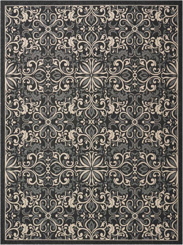 Nourison Caribbean Charcoal Collection