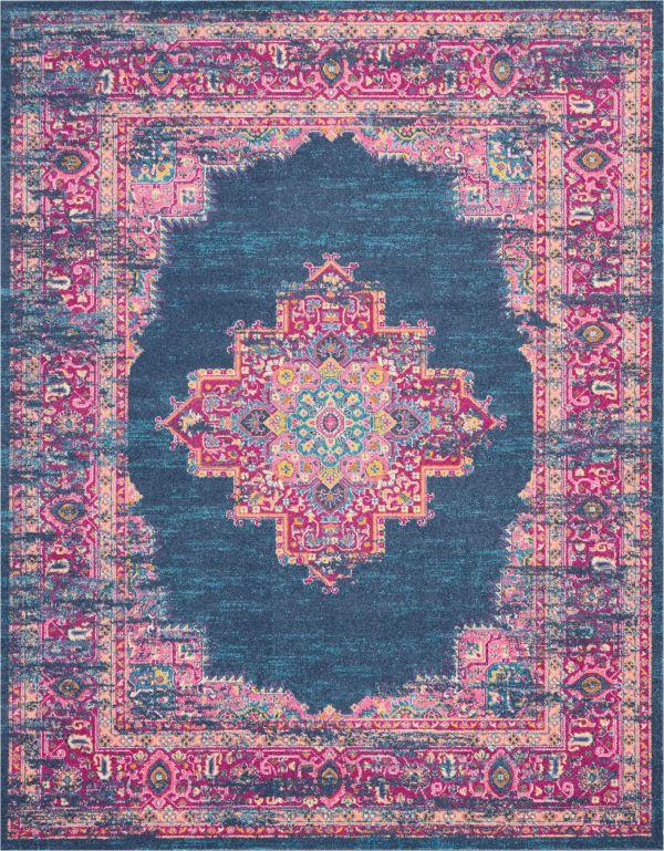 Nourison Passion Blue Collection