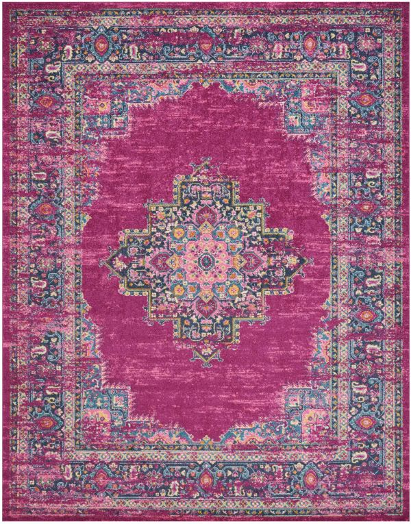 Nourison Passion Fuchsia Collection
