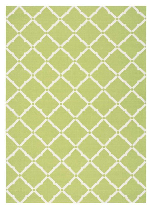 Nourison Home & Garden Light Green Collection