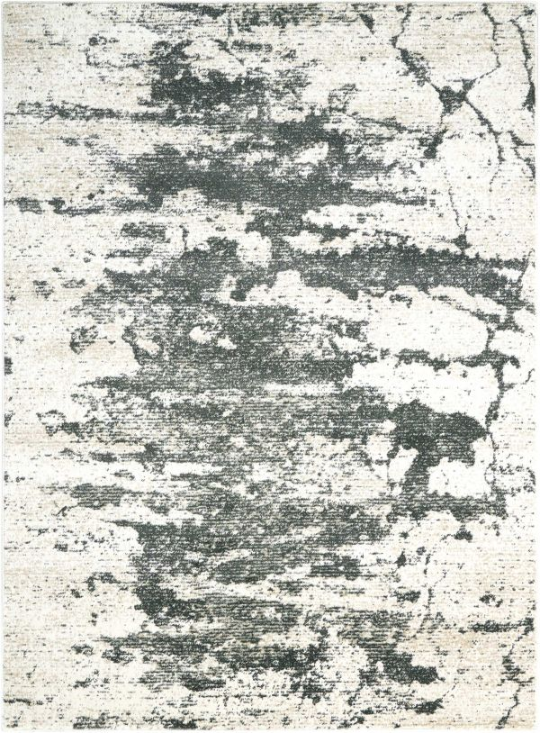 """Nourison Maxell Ivory/Grey 5'3"""" x 7'3"""" Collection"""
