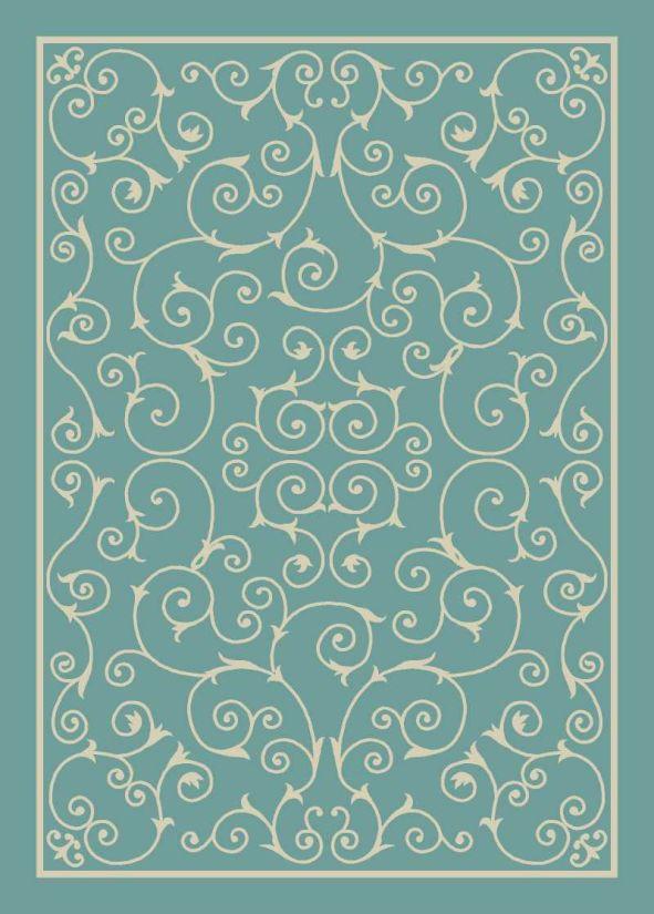 Nourison Home & Garden Light Blue Collection