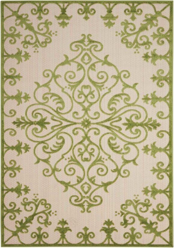 Nourison Aloha Green Collection