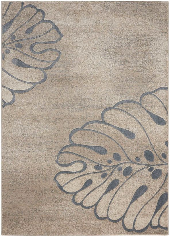 Nourison Maxell Beige Collection