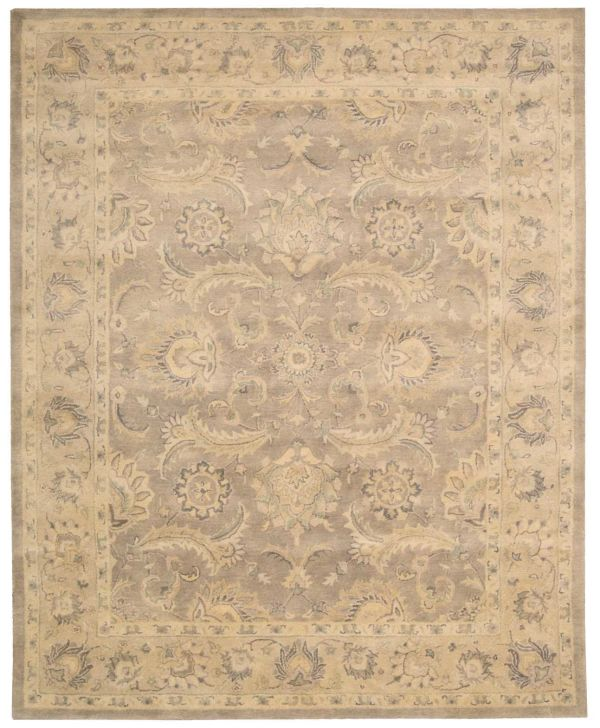Nourison Jaipur Traditional, Rustic/Vintage, Taupe Collection