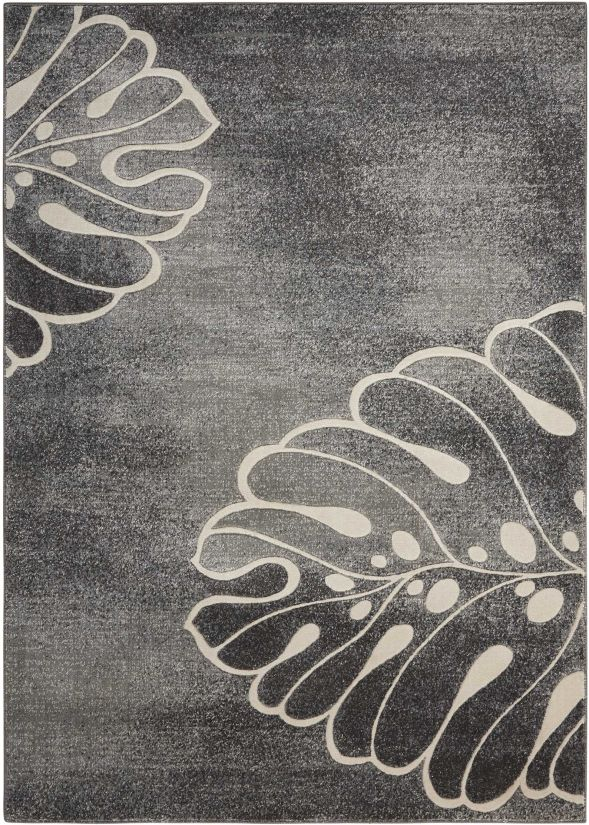 Nourison Maxell Grey Collection