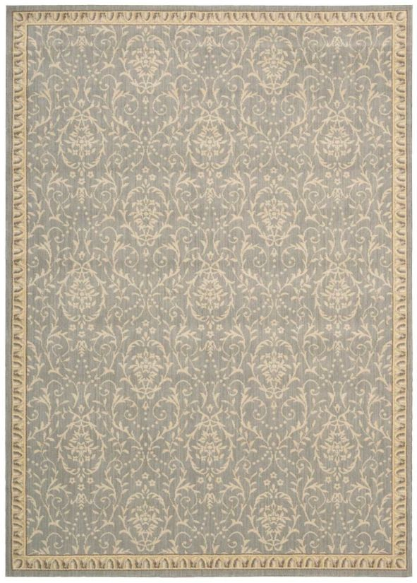 Nourison Riviera Traditional, Transitional, Blue Collection