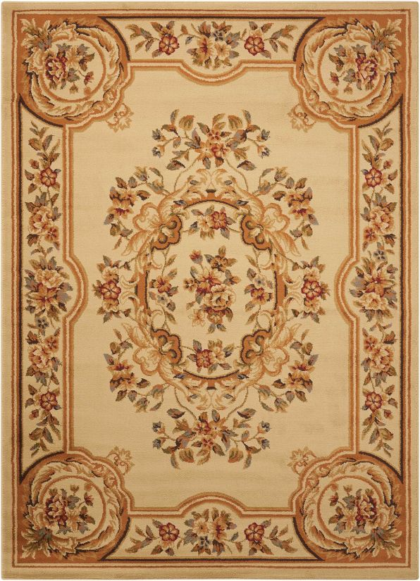 Nourison Paramount Beige Collection