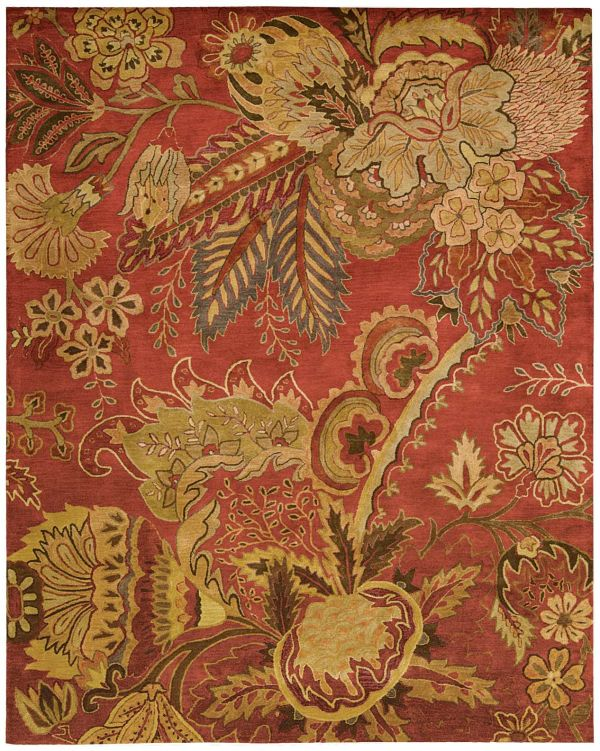 Nourison Jaipur Flame Collection
