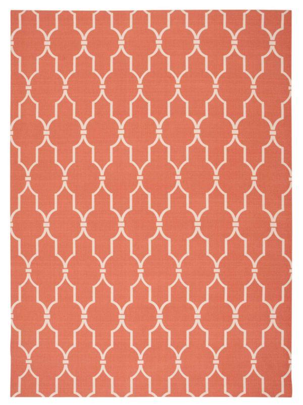 Nourison Home & Garden Orange Collection