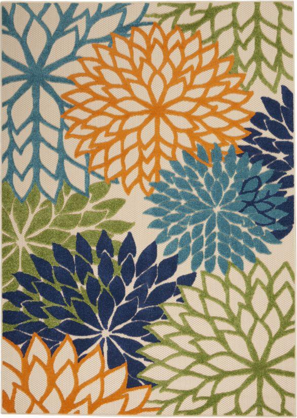 Nourison Aloha Multicolor Collection