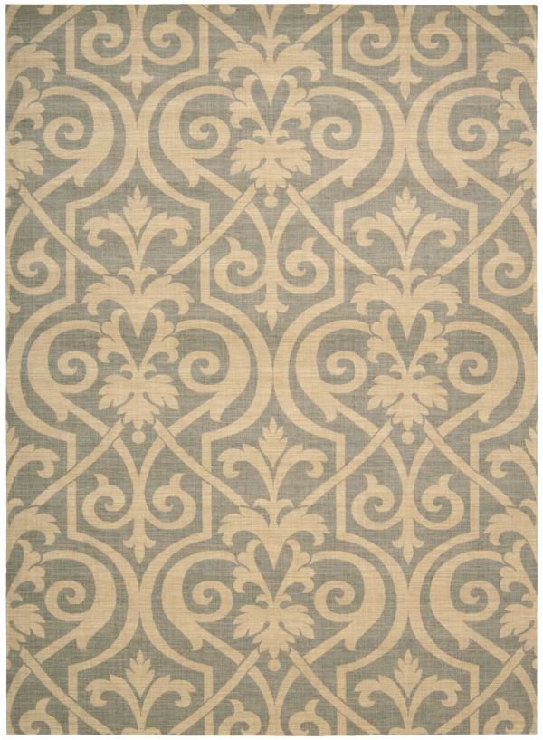 Nourison Riviera Transitional, Slate Collection