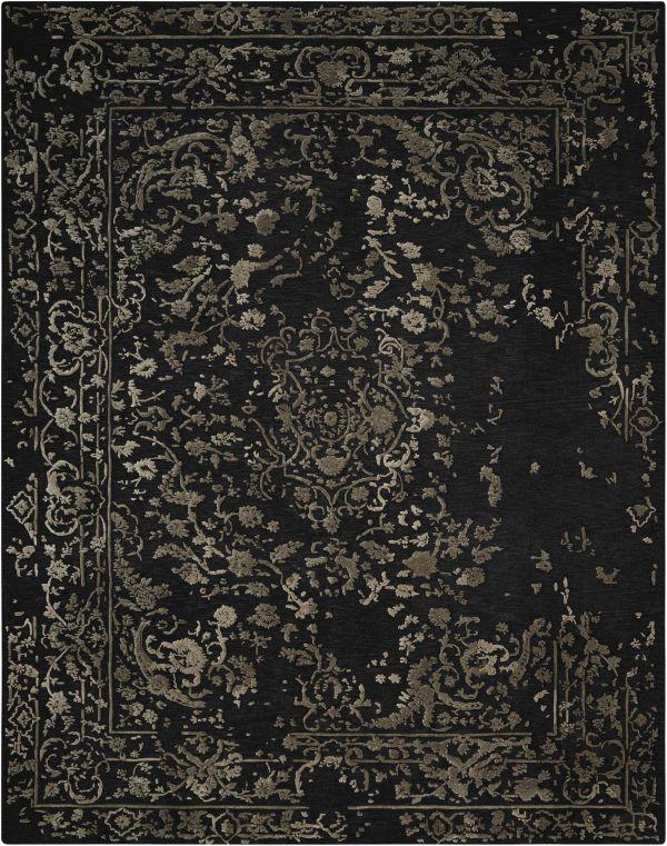 Nourison Opaline Midnight Silver Collection