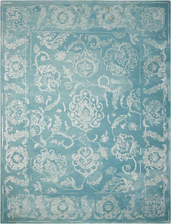 Nourison Opaline Aqua Collection