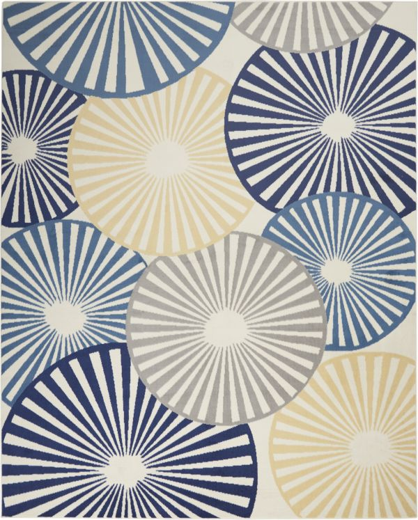 Nourison Grafix White Collection