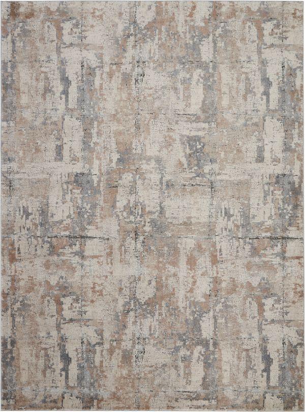Nourison Rustic Textures Beige/Grey Collection