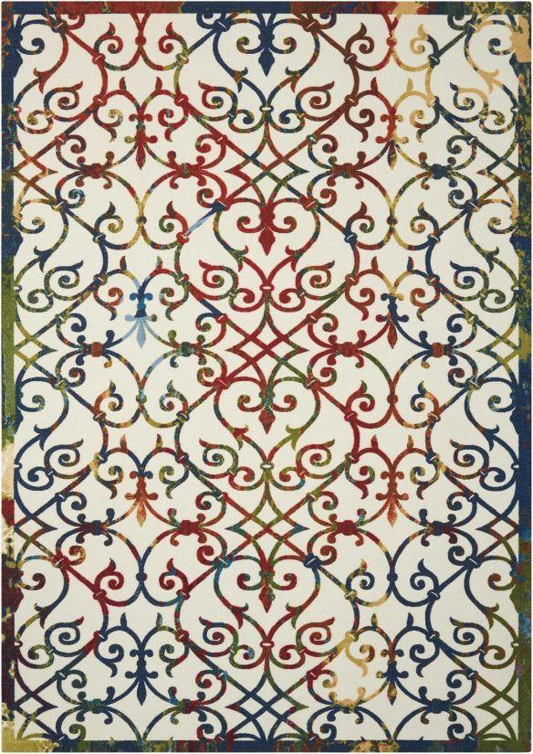 Nourison Home & Garden Multicolor Collection