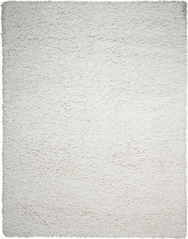 Nourison Zen Shag, White Collection