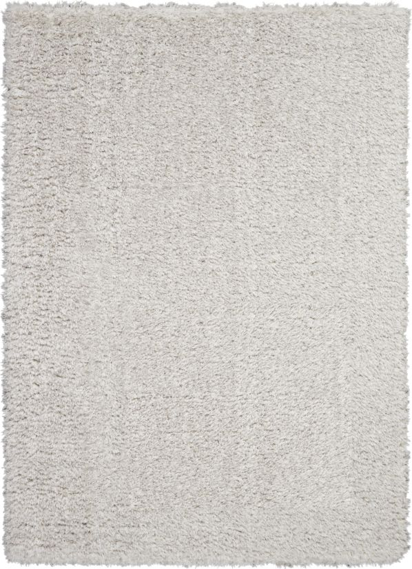 Nourison Luxe Shag Grey Collection