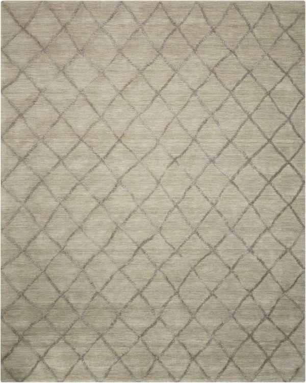 Nourison Lunette Silver Collection
