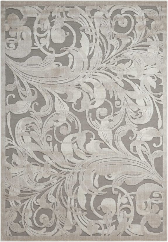 Nourison Graphic Illusions Gry/Camel Collection