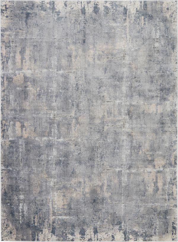 Nourison Rustic Textures Grey/Beige Collection