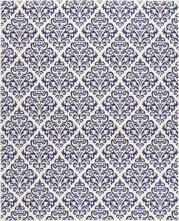 Nourison Grafix White Blue Collection