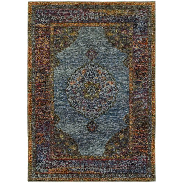 Oriental Weavers Andorra 7139a Blue Collection