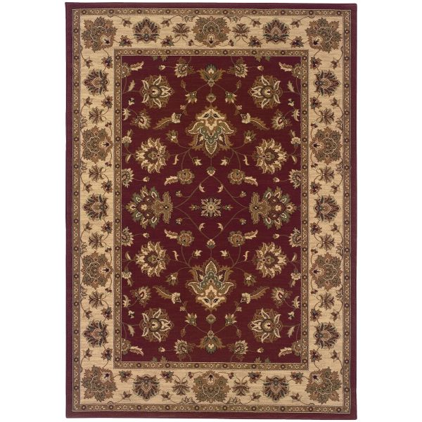 Oriental Weavers Ariana 623v Red Collection